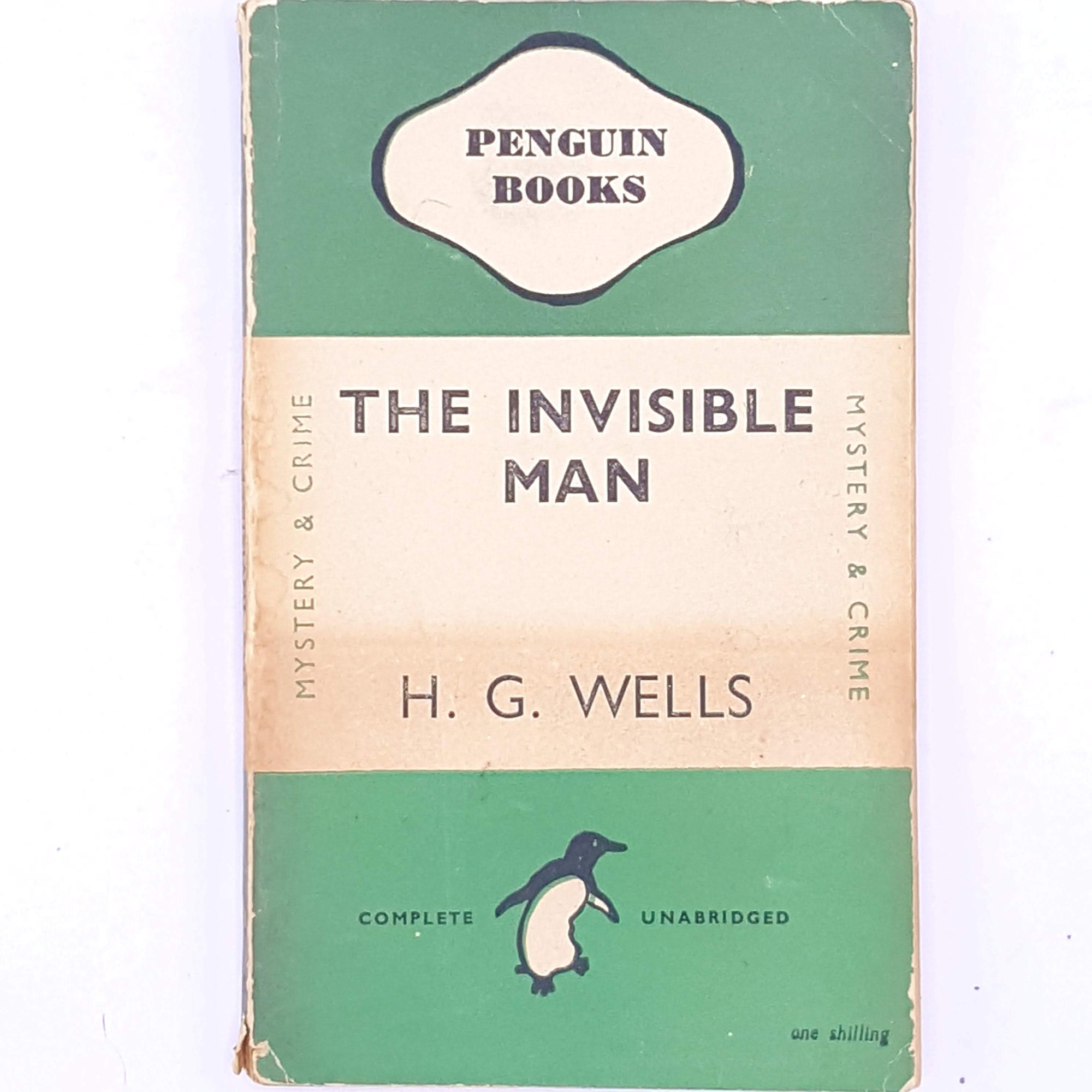 Penguin, H.G. Wells, The Invisible Man, 1946