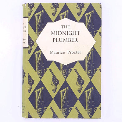 the-midnight-old-classic-sport-vintage-country-house-library-Maurice-Procter-mystery- crime-patterned-decorative-for-him-books-thrift-christmas-gifts-antique-