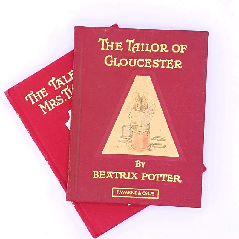 Beatrix Potter Red Double Collection