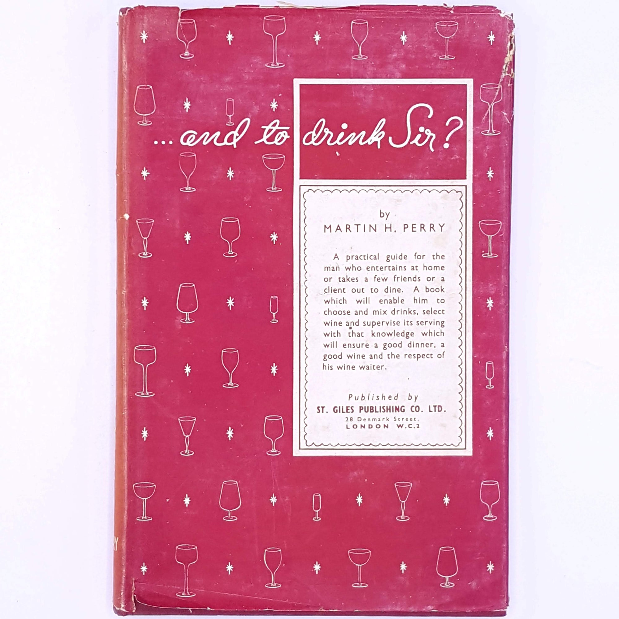 patterned-Martin-H-Perry-books-country-house-library-drinks-for foodies-recipes-thrift-old-antique-and-to-drink-Sir-cooking-baking-alcohol-decorative-cookbooks-vintage-christmas gifts-classic-