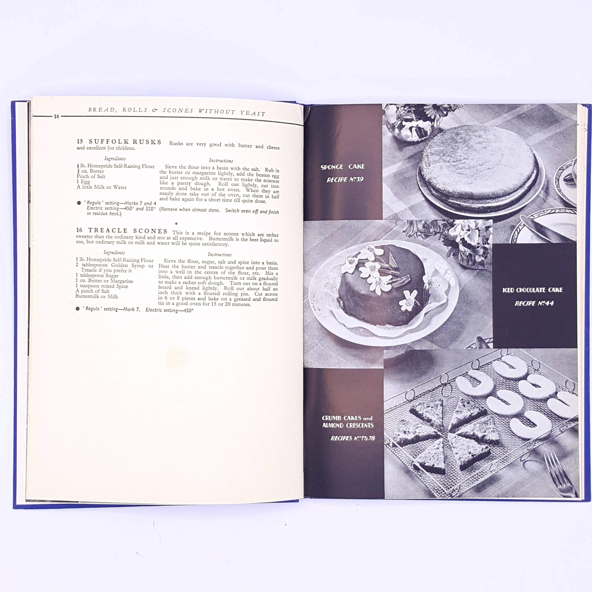 cooking-Homepride-Cookery-Book-Catherine-Ives-for foodies-antique-recipes-thrift-old-classic-baking-christmas gifts-books-patterned-cookbooks-vintage-decorative-country-house-library-