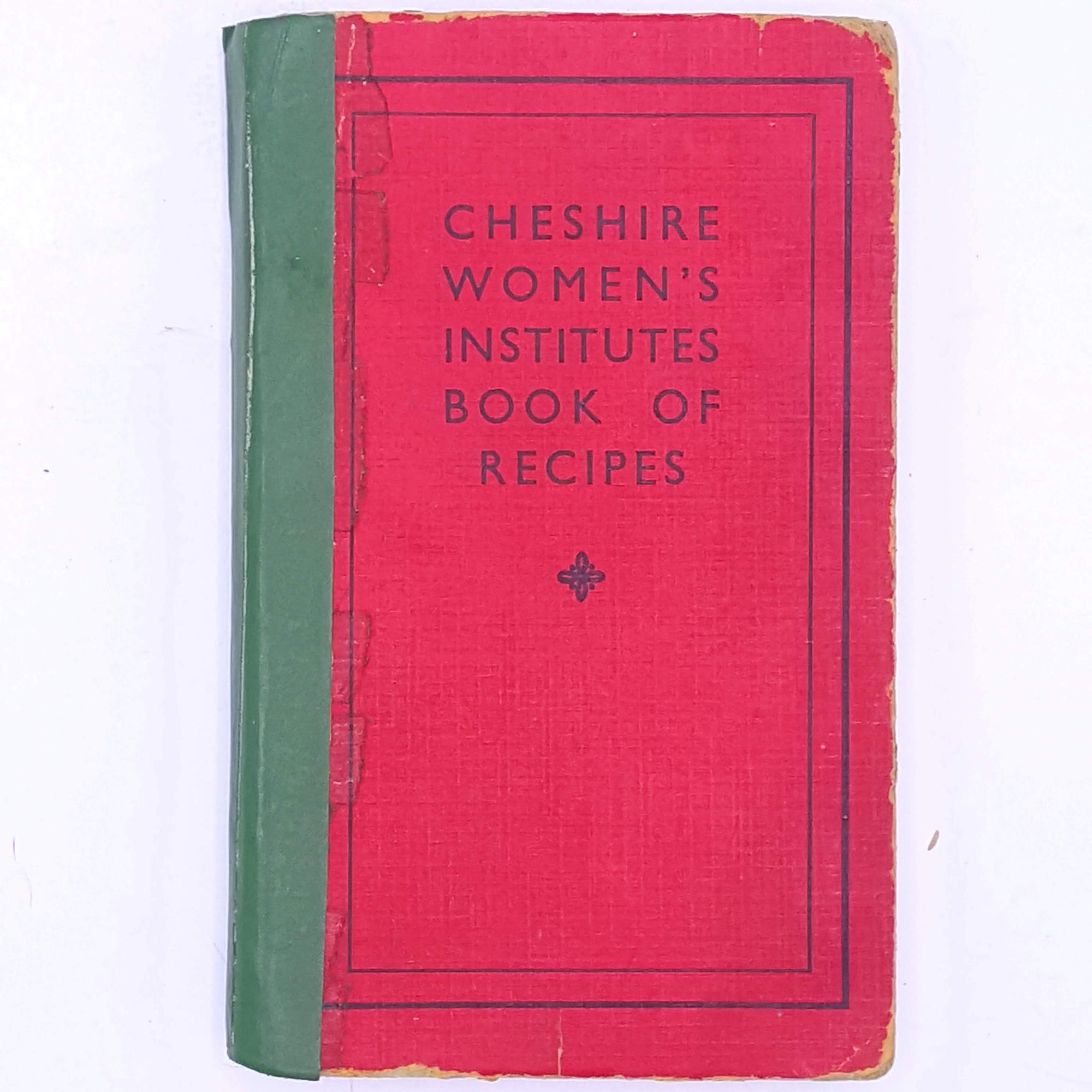 Cheshires Women's Institutes Book Of Recipes