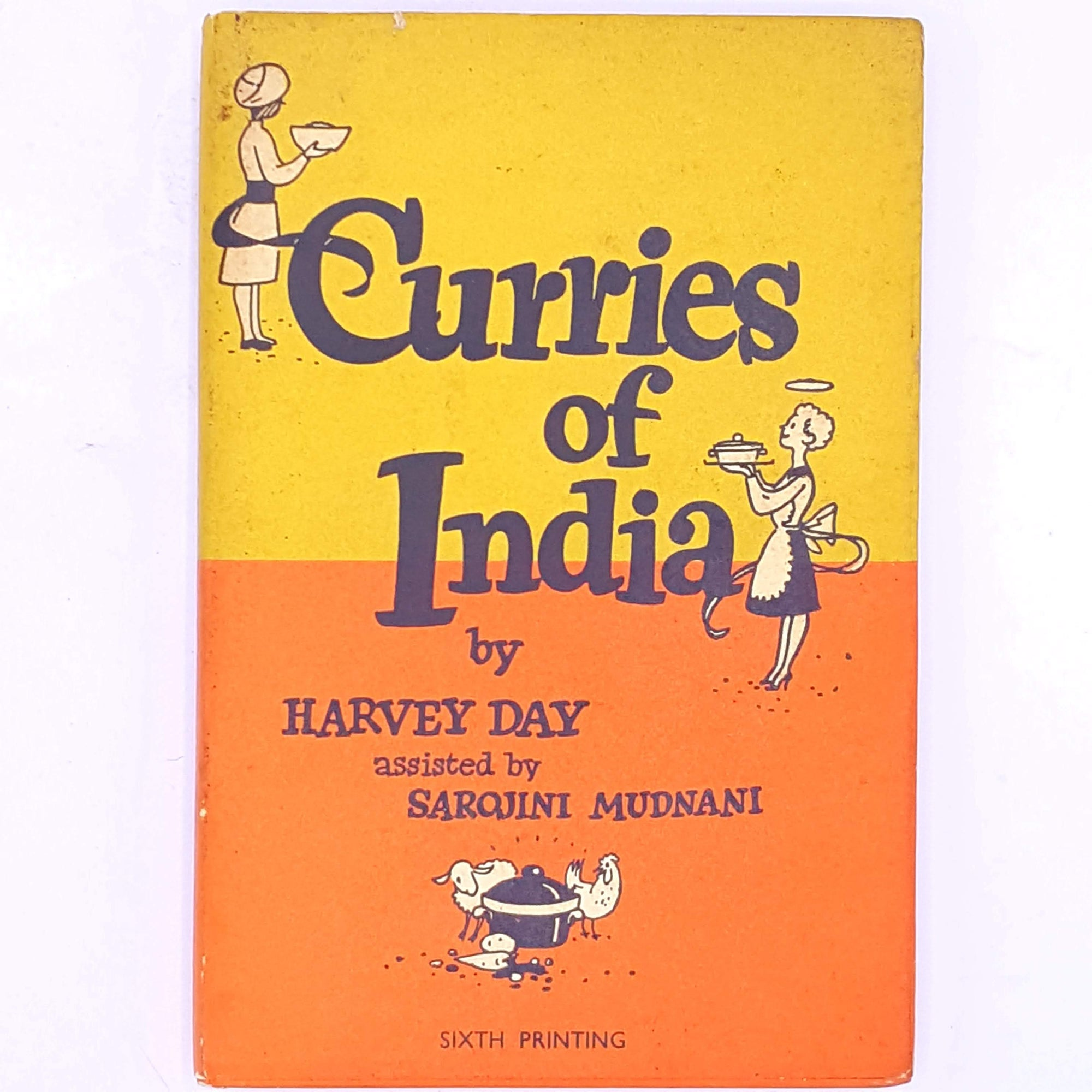Curries of India by Harvey Day assisted by Sarojini Mudnani