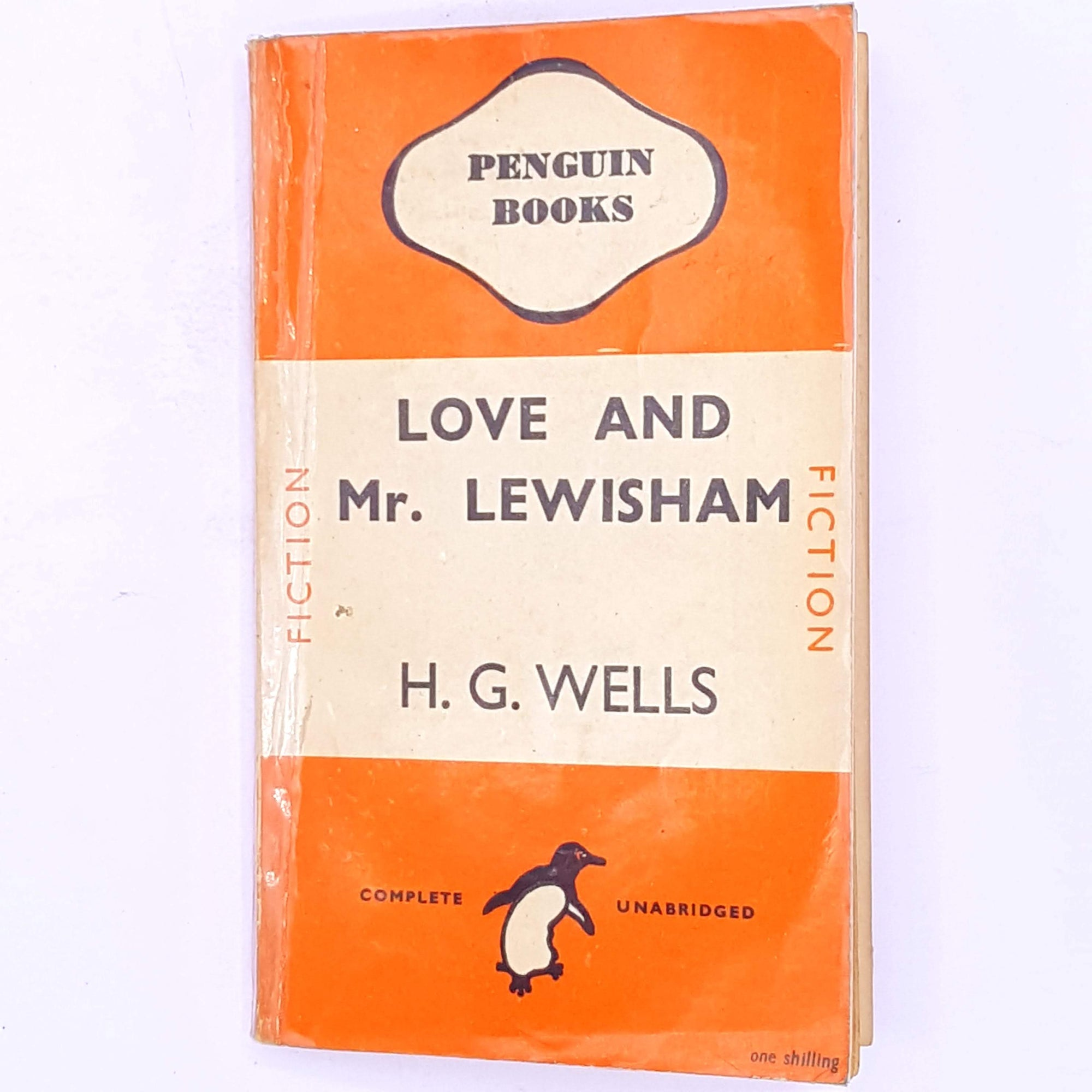 Penguin, H.G. Wells Love and Mr Lewisham