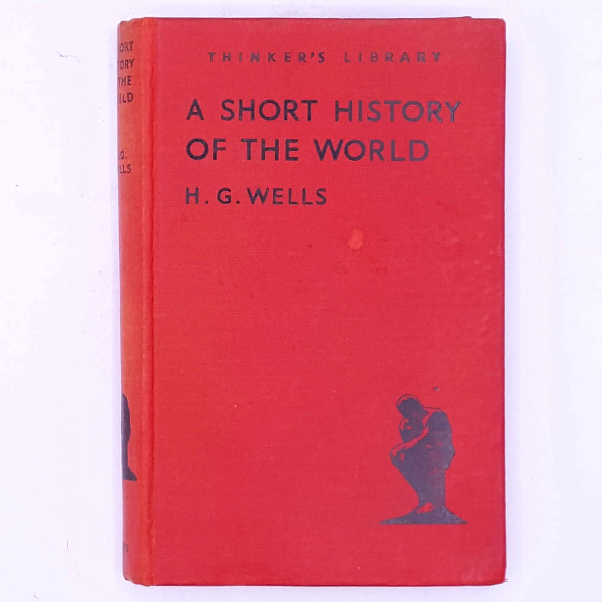 decorative-H.G.-Wells- thrift-science-fiction-country-house-library-classic-A-Short-History-of-the-World-patterned-short-stories- antique-old-short-story-vintage-books-