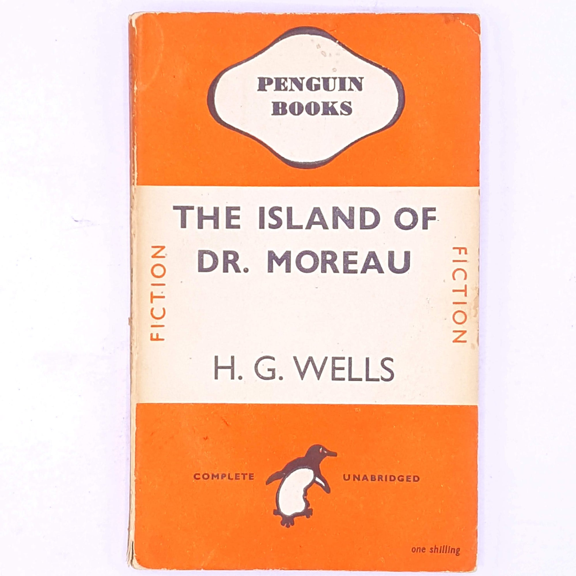 H.G. Wells, The Island Of Dr. Moreau, Penguin, 1946