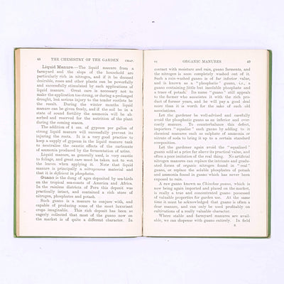 The Chemistry Of The Garden, Herbert H. Cousins M.A. 1908