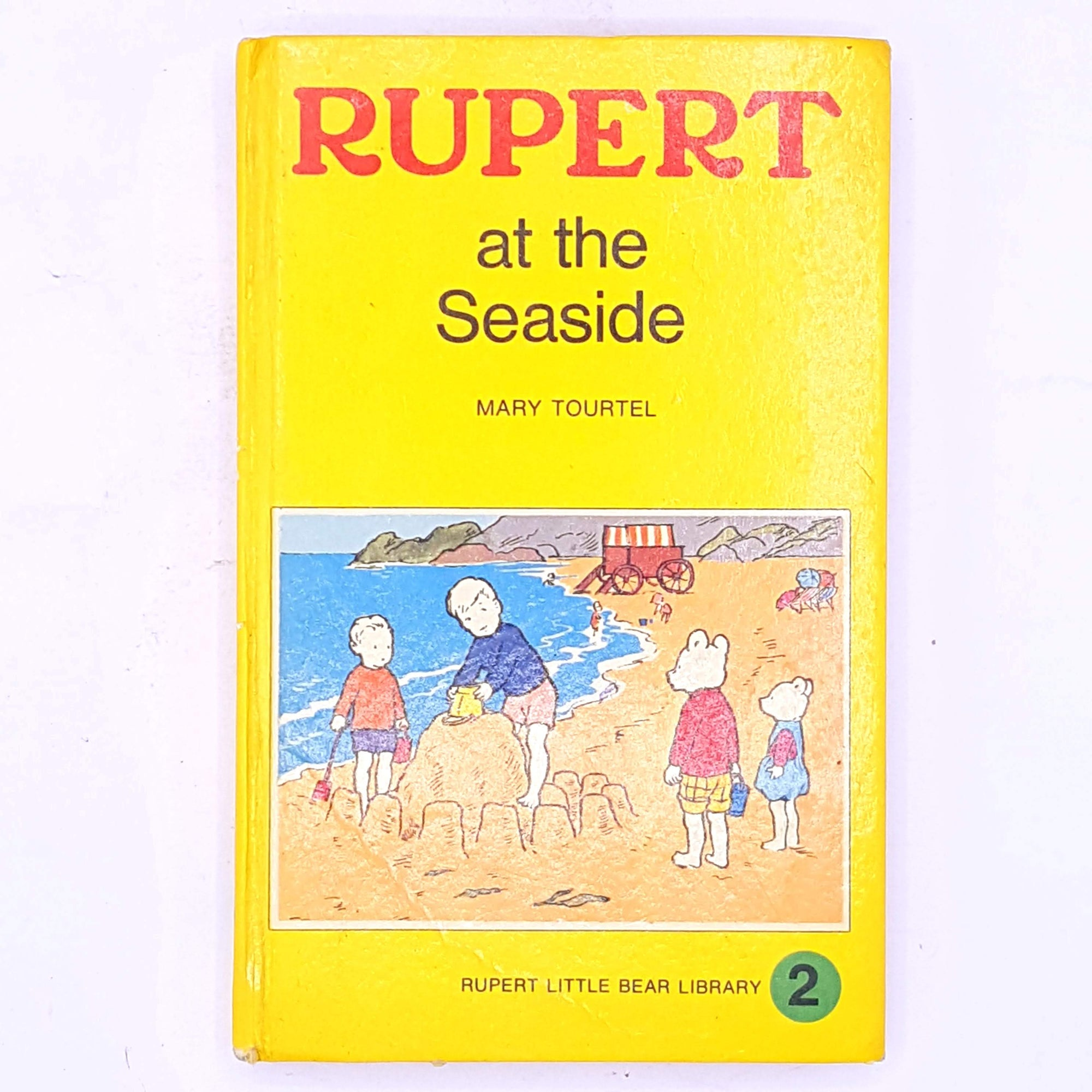 Rupert at the seaside Mary Tourtel