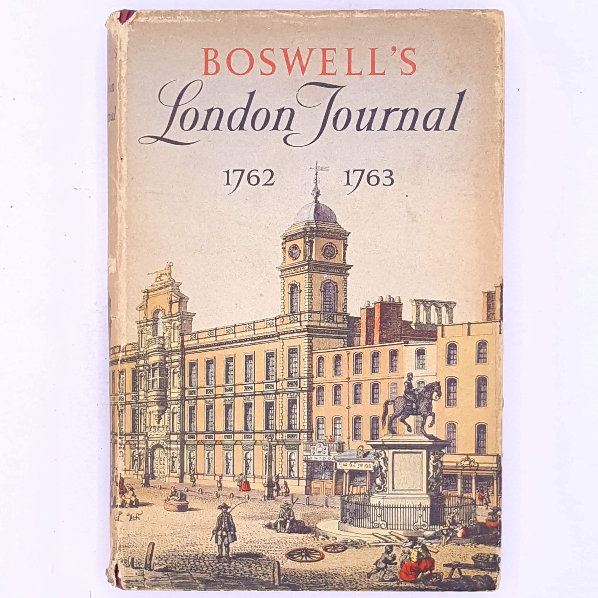 patterned-decorative-vintage-uk-books-antique-Boswell's-London-Journal -england-classic-thrift-country-house-library-history-london-old-