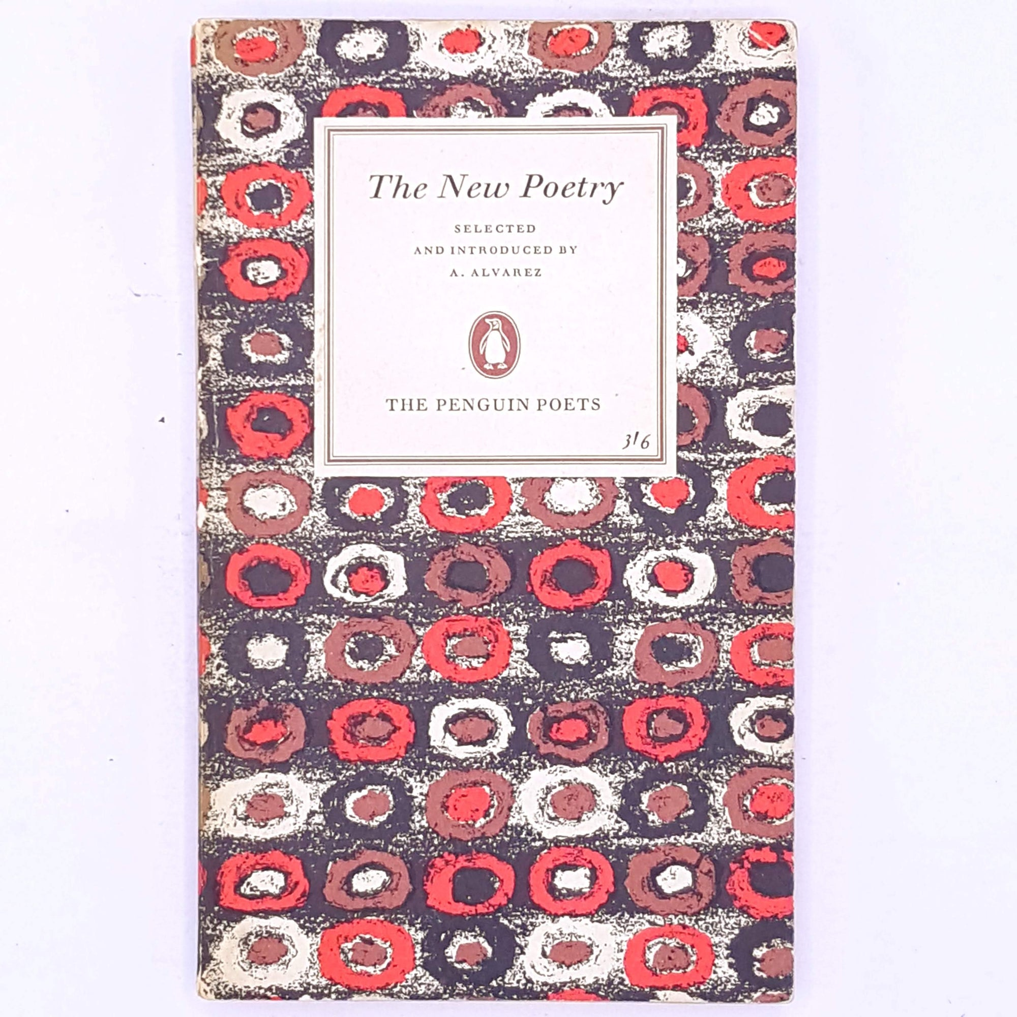 Penguin Poets, The New Poetry, A. Alvarez.
