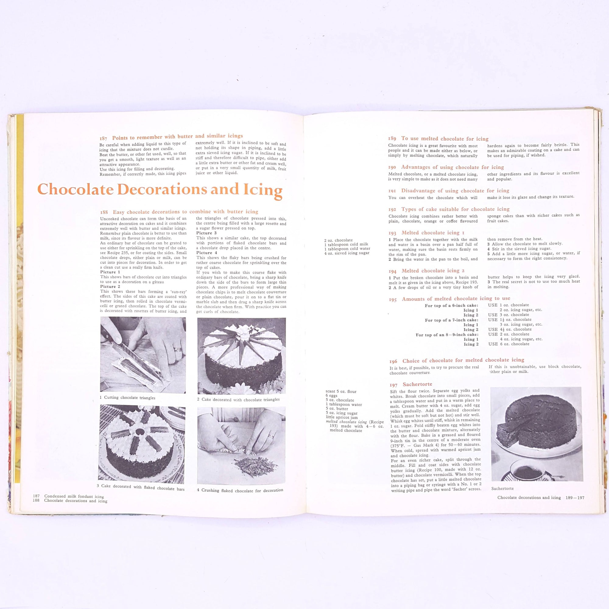cake-icing-and-decoration-marguerite-patten-country-house-library-baking- gifts-for-foodies-cookbook-classic-skills-recipes-hobbies-cooking-thrift-food-vintage-cookbooks-old-patterned-antique-decorative-books-