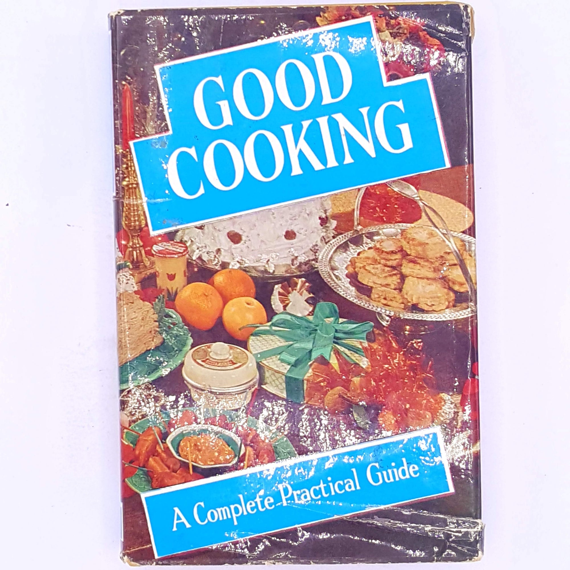 old-cooking-vintage-cookbooks-recipes-hobbies-country-house-library-food-decorative-gifts-thrift-for-foodies-patterned-good-cooking-a-complete-practical-guide-cookbook-books-baking- skills-antique-classic-
