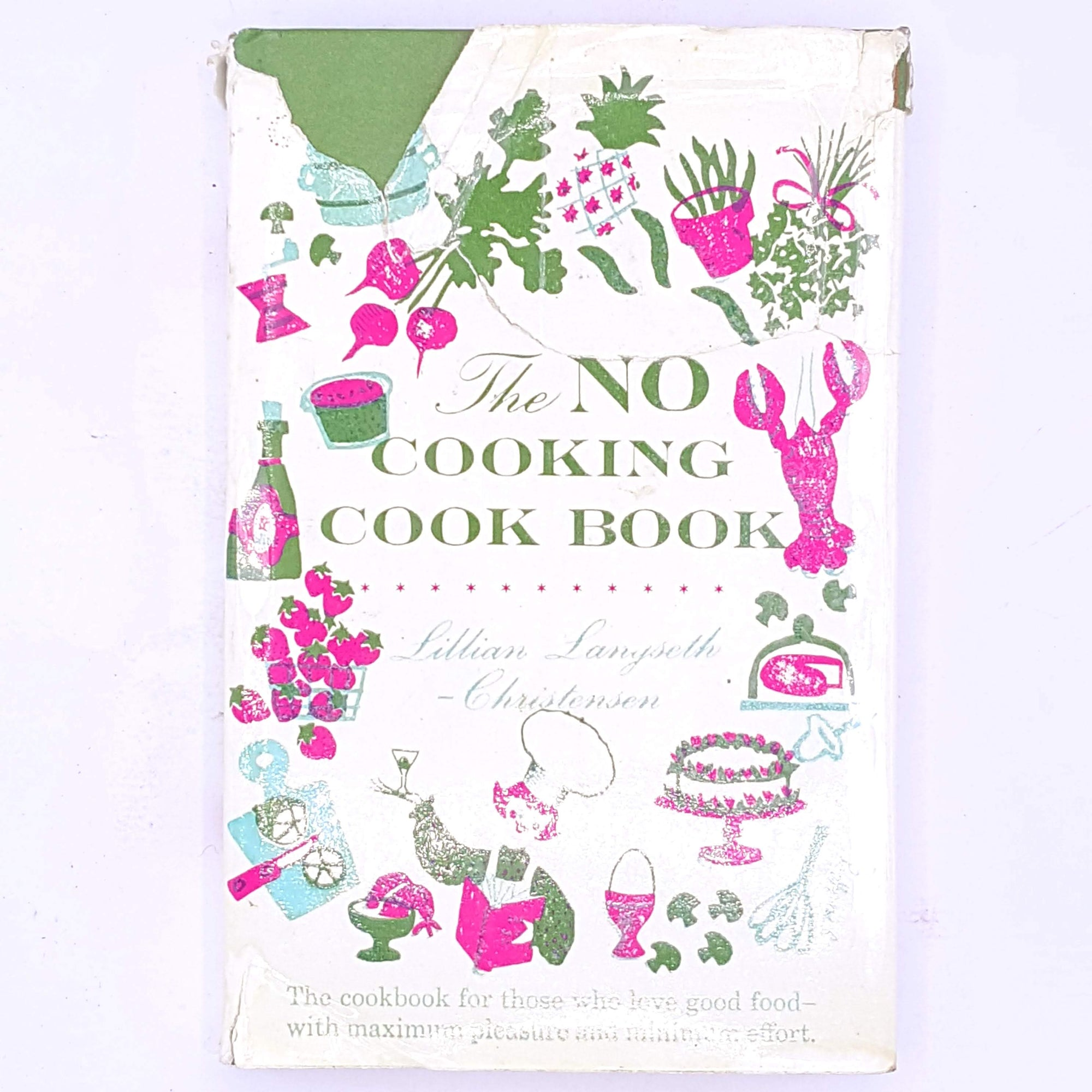 The NO Cooking Cook Book by Lillian Langseth-Christensen
