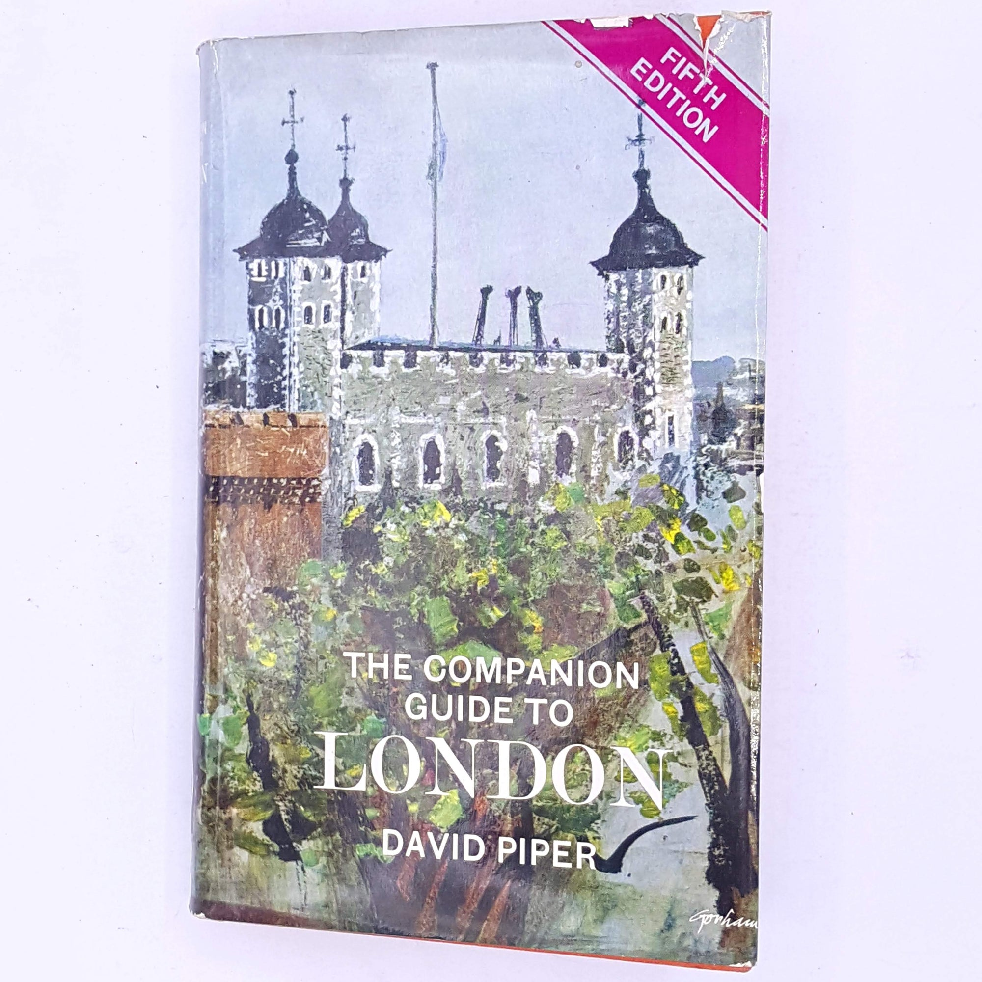 antique-classic-vintage-the-companion-guide-to-london--thrift-patterned-decorative-london-uk-england-david-piper-britain-british-captial-city-books-country-house-library-old-