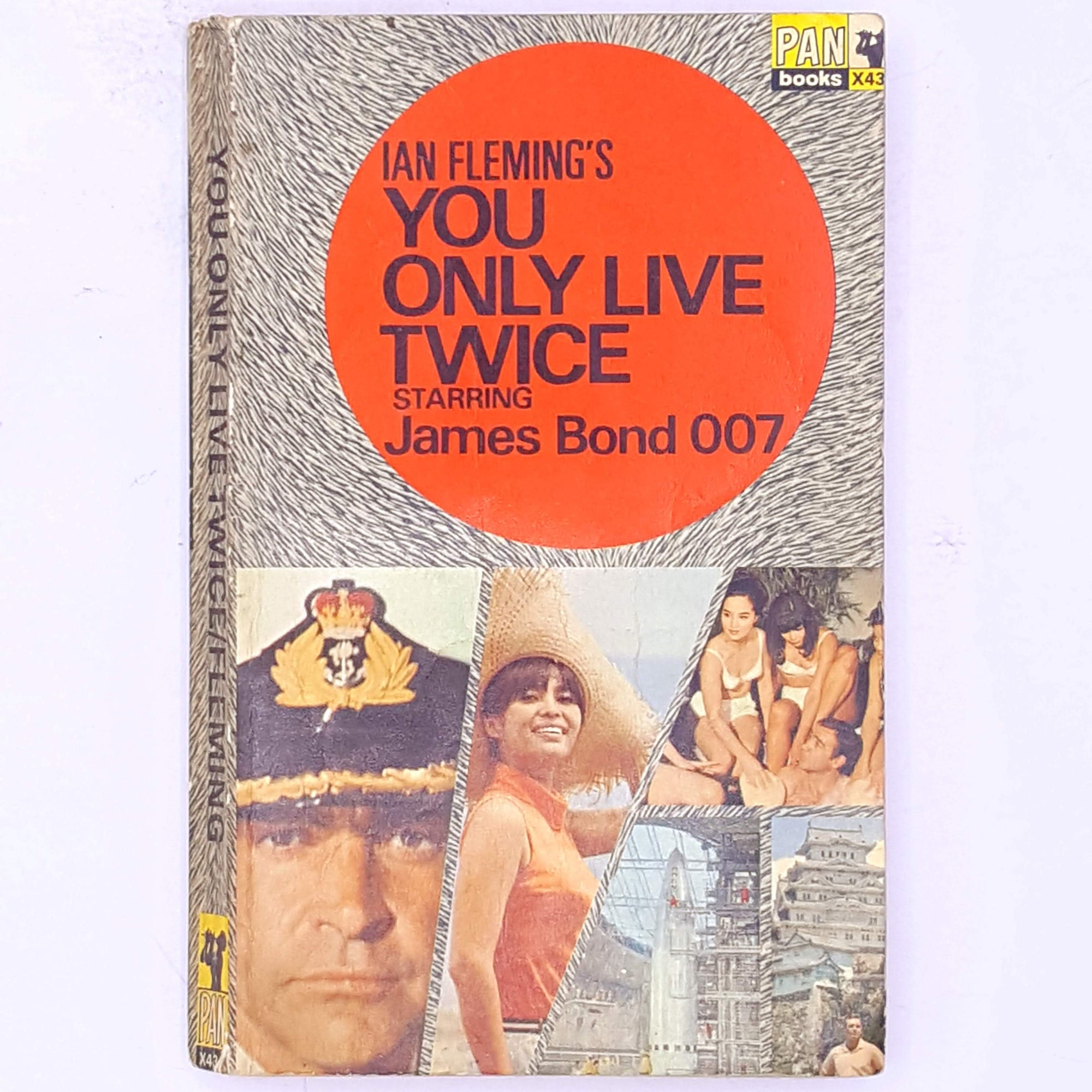 decorative-you-only-live-twice-James-Bond-007-secret-agent-vintage-classic-old-spy-ian-fleming-mystery-books-thrift-patterned-country-house-library-antique-