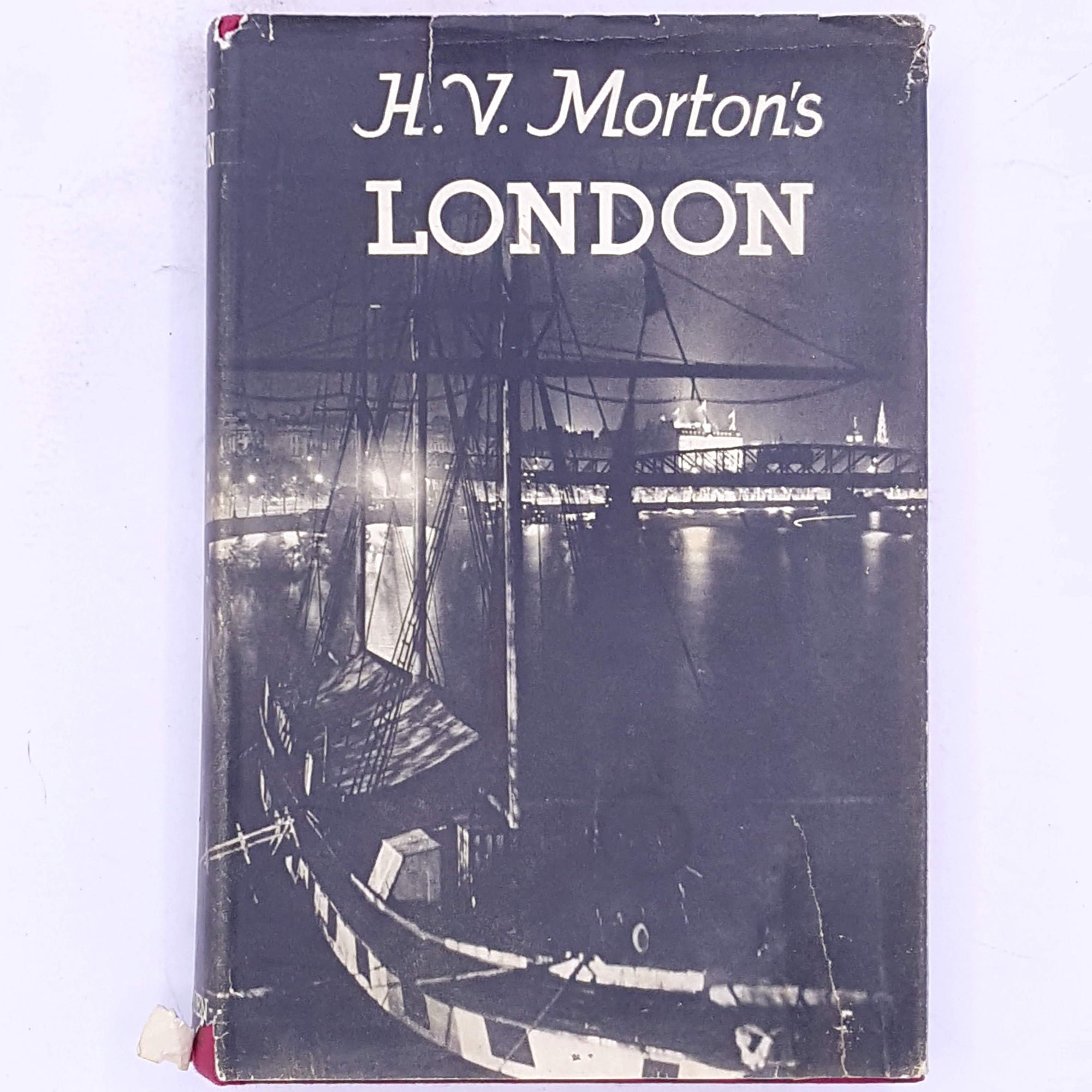 vintage-antique-classic-decorative-old-london-england-britain-uk-history-geography-h.v.-morton-london-patterned-books-country-house-library-thrift-