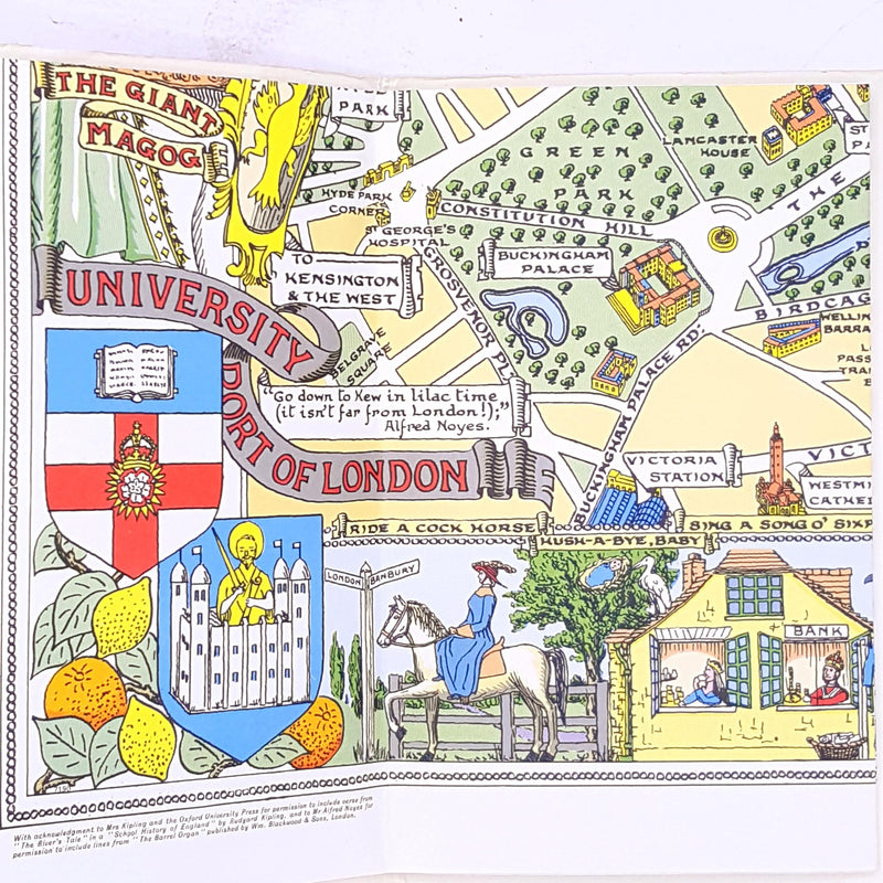London a children's map