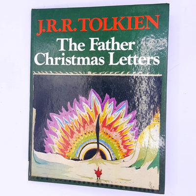 the-father-christmas-letters-for-kids-christmas-antique-decorative-fantasy-science-fiction-mystical-folklore-mythical-magical- thrift-country-house-library-old-patterned-vintage-classic-books-J.R.R.-TOLKIEN-