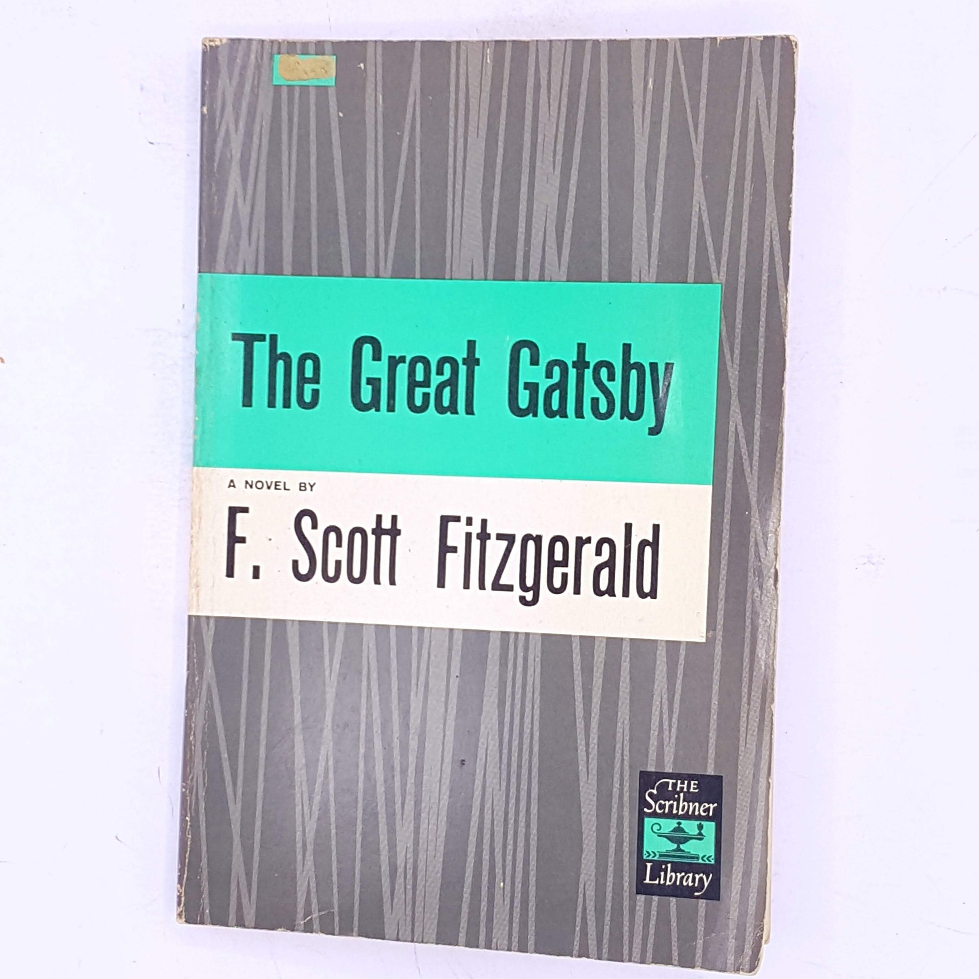 The Great Gatsby a novel by F. Scott Fitzgerald
