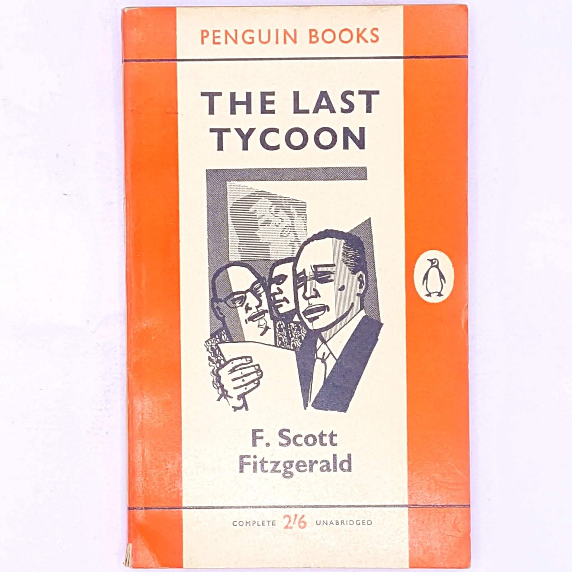 Penguin Books - The Last Tycoon by F. Scott Fitzgerald