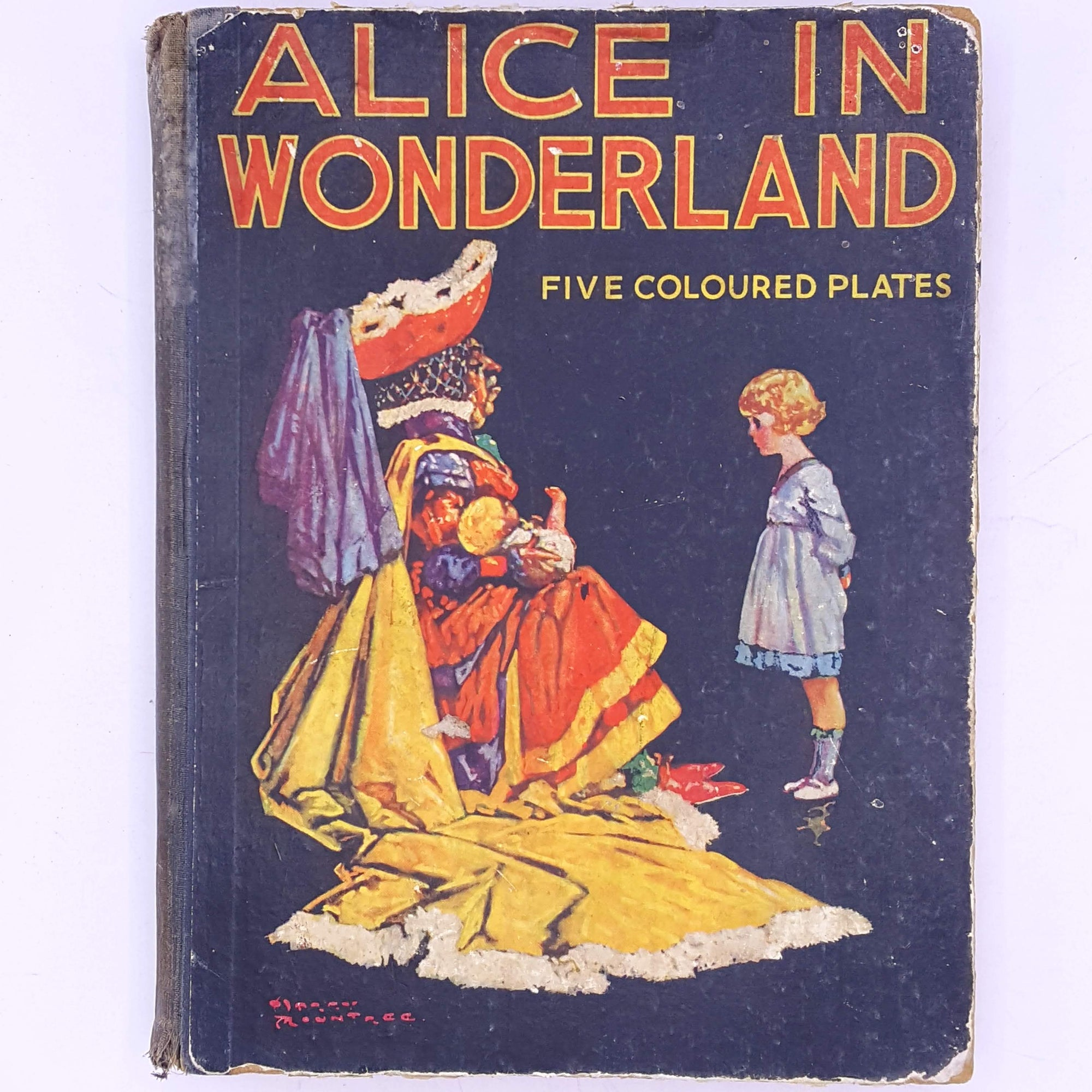 Alices Adventures in Wonderland with Five coloured plates.