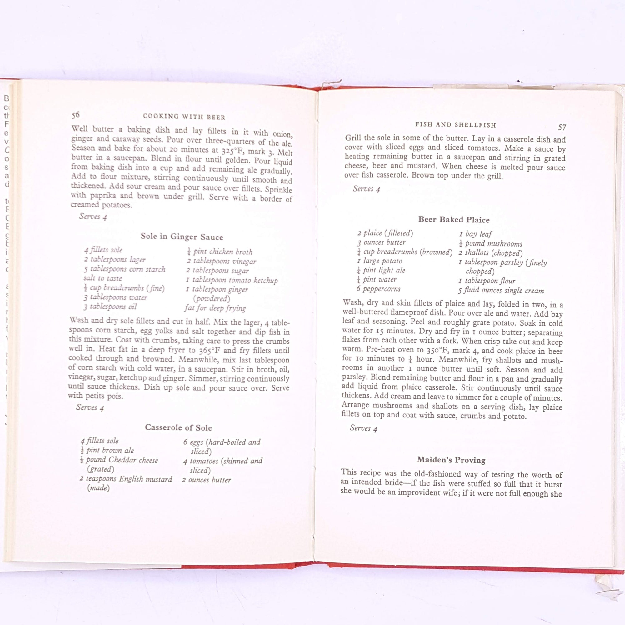 old-thrift-country-house-library-for-foodie-breakfast-lunch-dinner-cookbook-antique-decorative-vintage-cookbooks-recipes-food-meals-cooking-baking-cook-bake- Cooking-With-Beer-by-Carole-Fahy-alcohol-books-classic-patterned-
