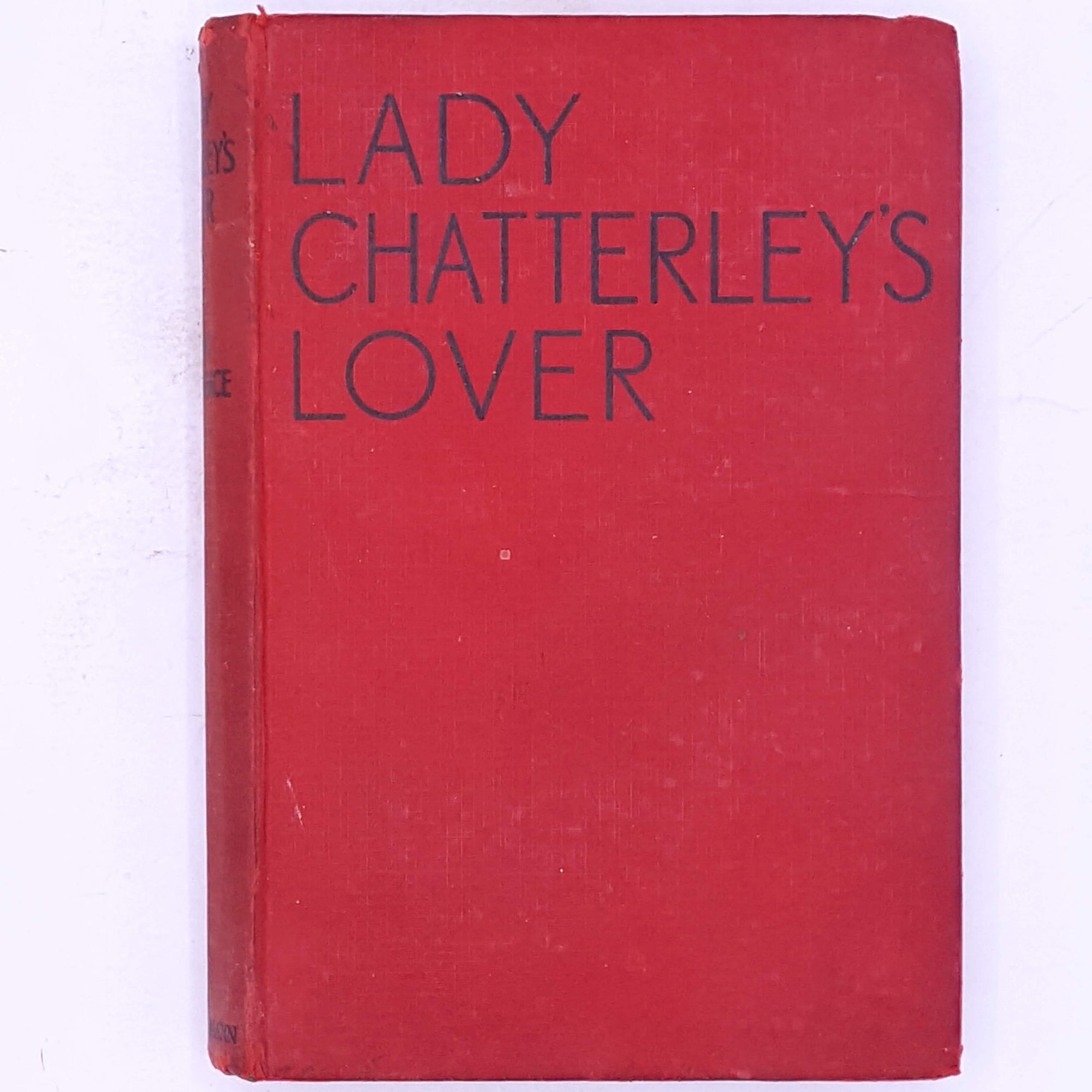 Lady Chatterley's Lover Banned Books
