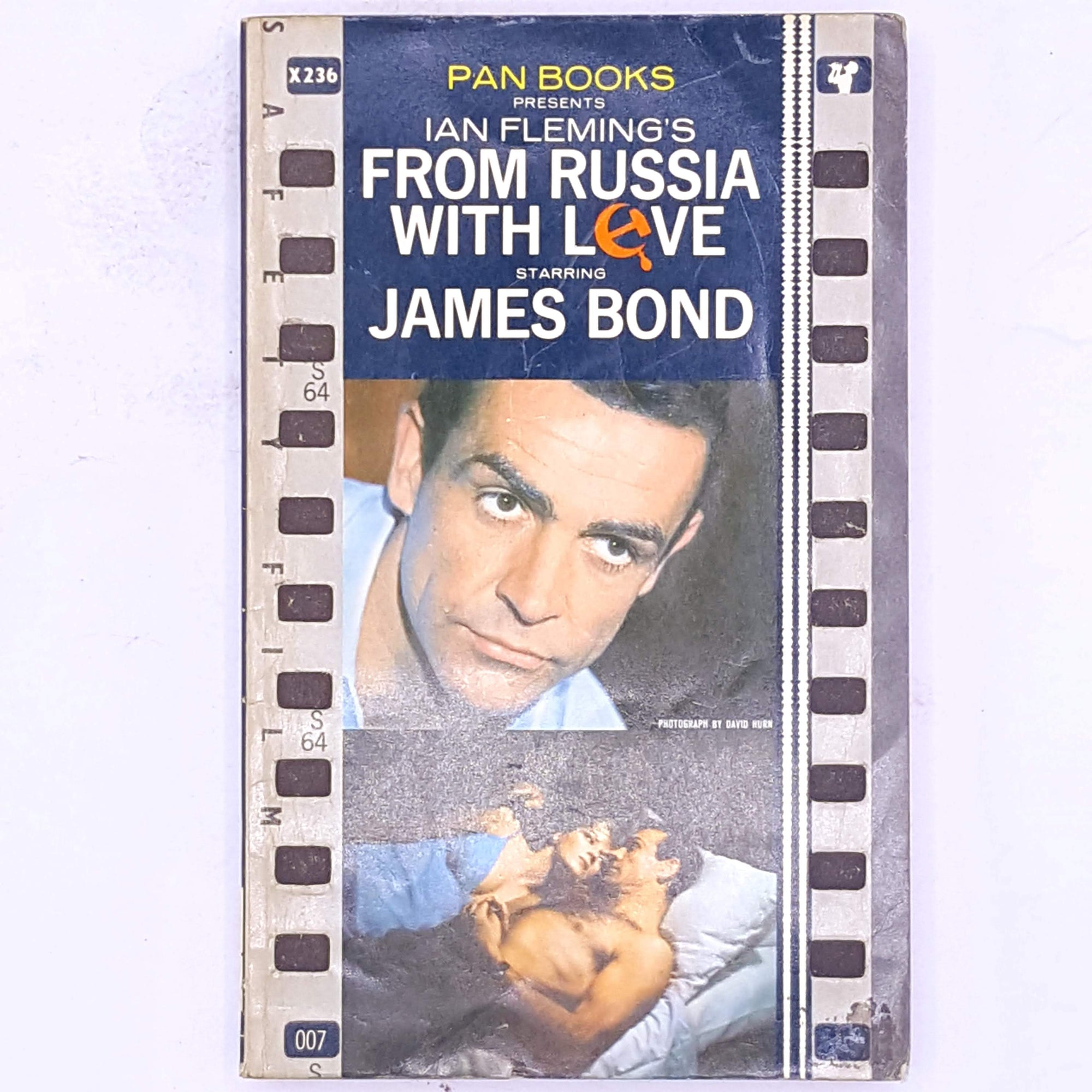 antique-decorative-ian-fleming-thrift-007-books-spy-crime-mystery-thriller-secret-service-classic-patterned-vintage-james-bond-British-secret-agent-country-house-library-old-from-russia-with-love-