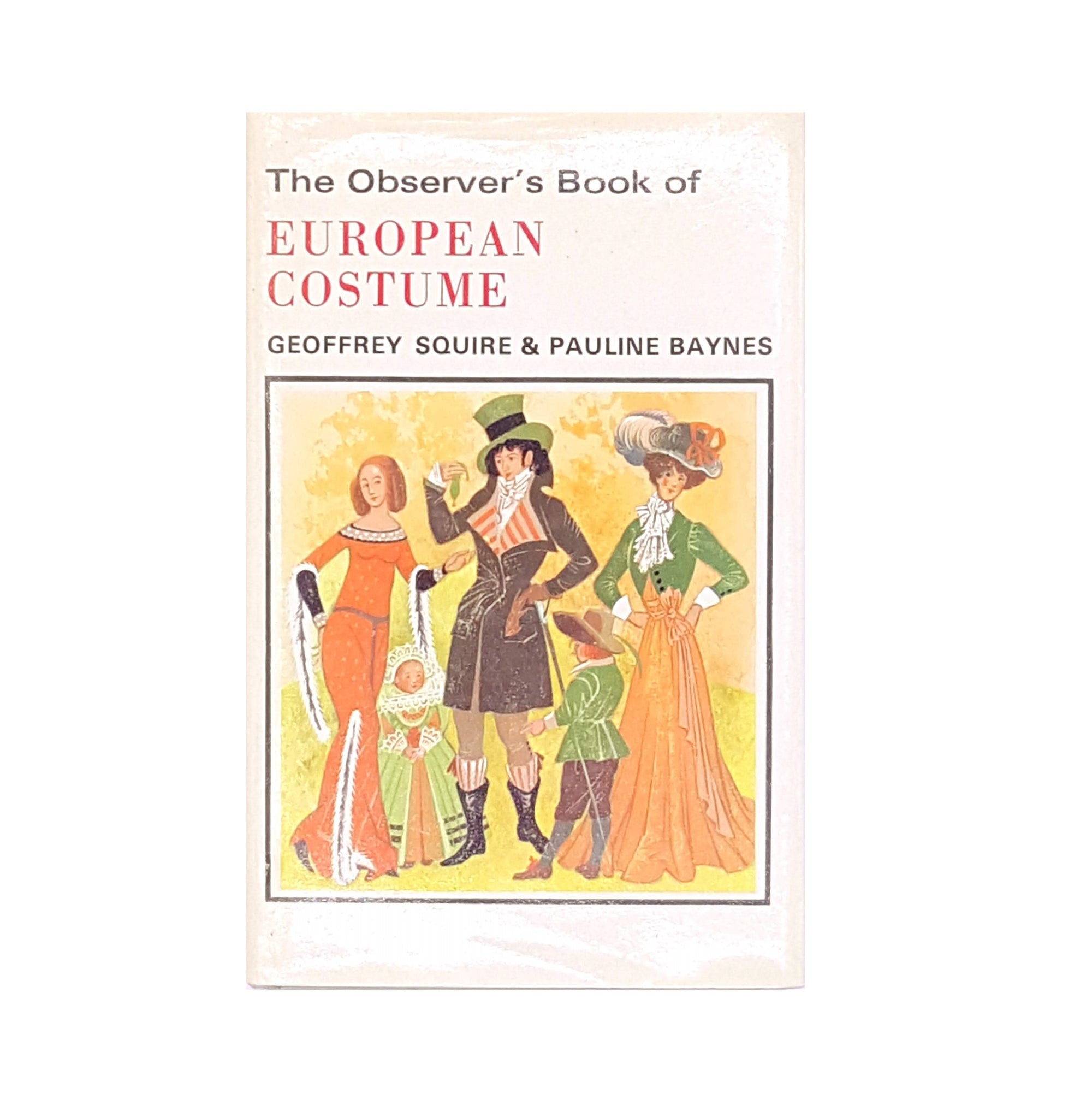 The Observer's Book of European Costume
