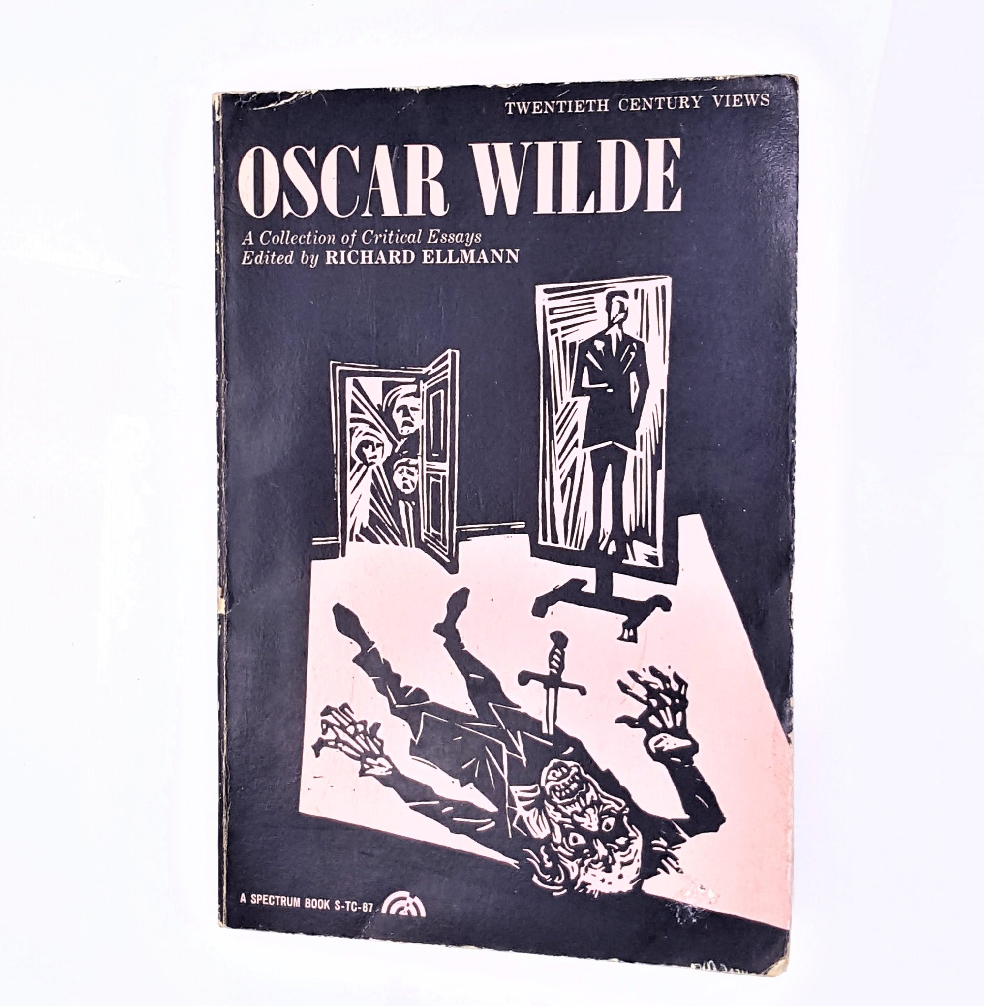 oscar-wilde-essays-Classic-analysis-decorative-thrift-old-vintage-books-patterned-literature-poems-country-house-library-antique