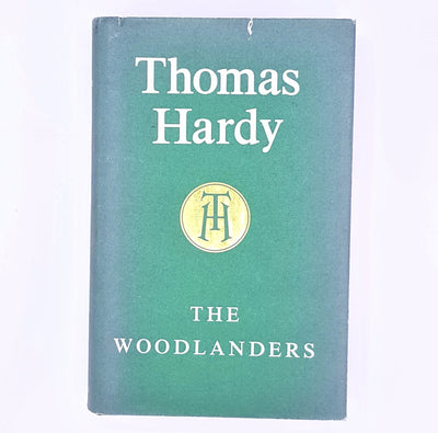 books-classic-vintage-thomas-hardy-decorative-thrift-hardcover-patterned-old-green-woodlanders-antique-country-house-library-literature