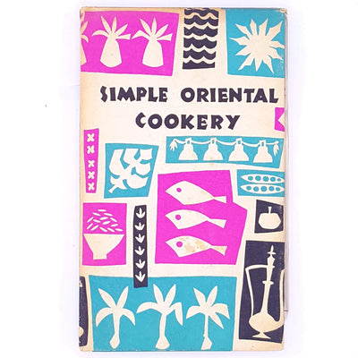 cooking-baking-breakfast-lunch-dinner-tea-snacks-afternoon-tea-old-thrift-simple-Oriental-cookery-books-classic-food-savoury-sweet-vintage-patterned-creating-crafts-artistic-baking-hobbies-skills-betterment-antique-country-house-library-decorative-