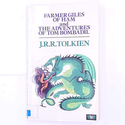 vintage-old-patterned-the-hobbit-dwarves-hobbits-one-ring-bilbo-baggins-wizard-gandalf-fantasy-fairytale-mythology-mythical-classic-thrift-country-house-library-Farmer-Giles-of-Ham-and-The-Adventures-of-Tom-Bombadil-decorative-j.r.r.-tolkien-lord-of-the-rings-books-antique-