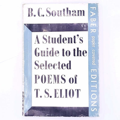T.S.-Eliot-faber-and-faber-a-students-guide-to-the-selected-poems-of-T.S.-eliot-books-country-house-library-classic-decorative-thrift-antique-vintage-patterned-old-