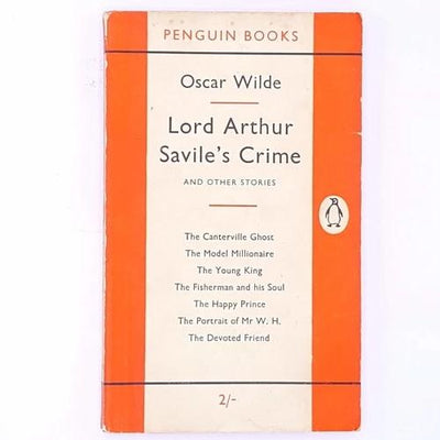 country-house-library-old-classic-vintage-lord-arthur-savile's-crime-and-other-stories-thrift-decorative-patterned-antique-oscar-wilde-books-penguin-