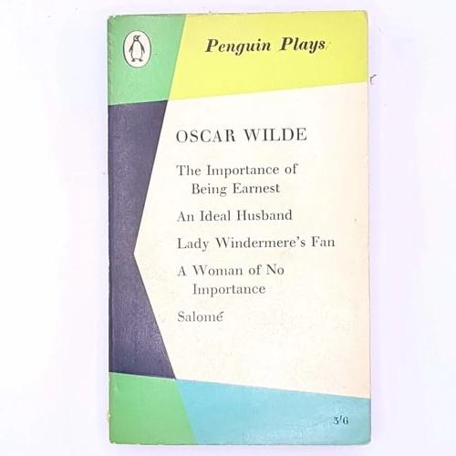 the-importance-of-being-earnest-oscar-wilde-plays-salome- thrift-penguin-penguin-plays-antique-books-vintage-classic-decorative-country-house-library-patterned-old-lady-windermere's-fan-an-ideal-husband-a-woman-of-no-importance-