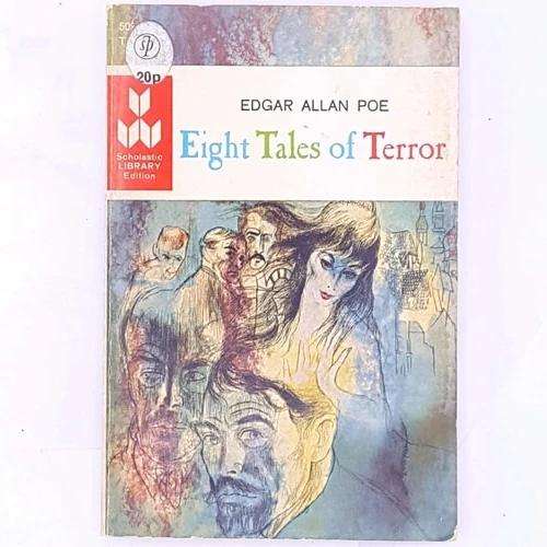thrift-books-antique-edgar-allan-poe-eight0tales-of-terror-scary-halloween-country-house-library-vintage-old-classic-patterned-decorative-
