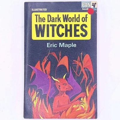 antique-books-thrift-patterned-vintage-country-house-library-illustrated-the-dark-world-of-witches-eric-maple-witches-witchcraft-