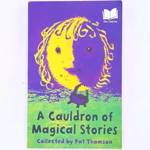 antique-decorative-patterned-a-cauldron-of-magical-stories-Halloween-for-kids-children's-bookscountry-house-library-old-thrift-books-classic-vintage-