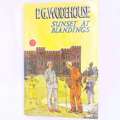 P.G.-Wodehouse-sunset-at-blandings-british-uk-english-classic-patterned-old-decorative-thrift-vintage-books-country-house-library-antique-