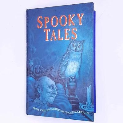 classic-books-antique-vintage-thrift-old-horror-scary-gothic-country-house-library-spooky-tales-halloween-patterned-decorative-