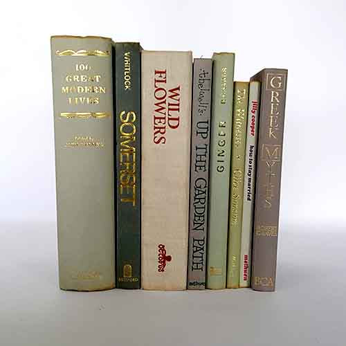 Neutral Vintage Eight Book Collection