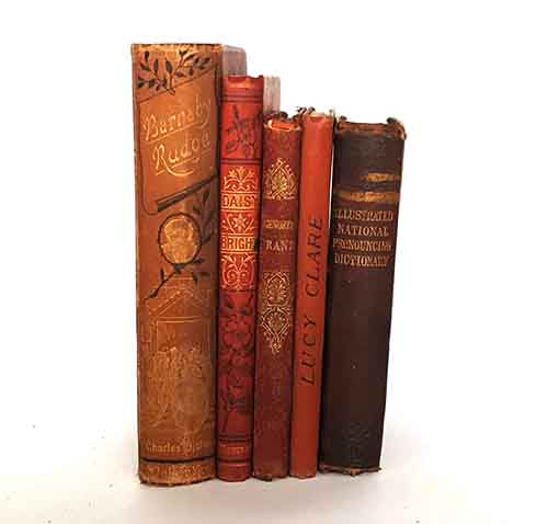 Red Antique Five Book Collection