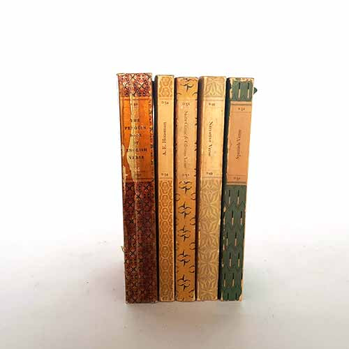 Penguin Poetry Five Book Collection