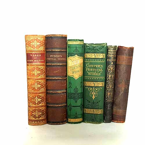 Six Book Antique Collection
