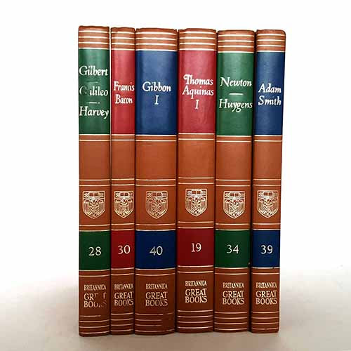 Britannica Six Book Collection