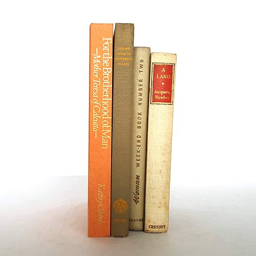 Four Book Neutral Book Collection