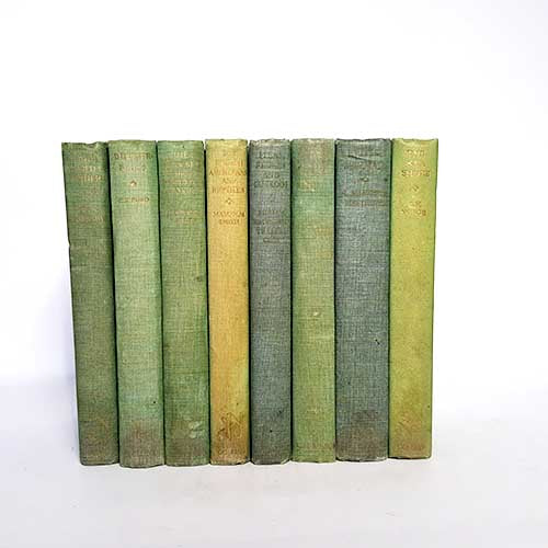 Green Nature Eight Book Collection