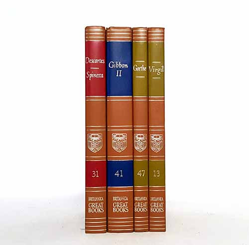 Britannica Four Book Collection