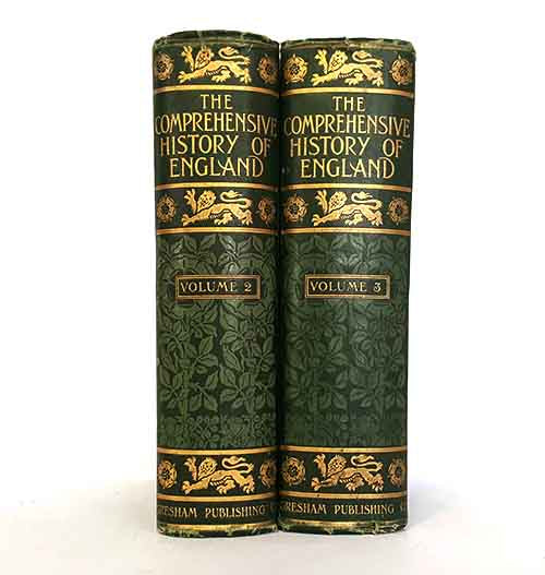 Green Vintage Two Book History Of England Collection
